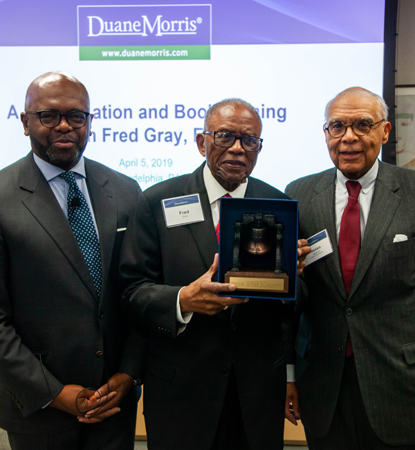 Duane Morris Hosts Iconic Civil Rights Attorney Fred Gray